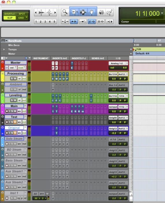 Cap 08-A - Creare la sessione - Lezioni di Mastering