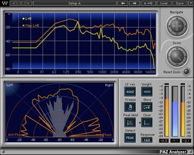 Cap 08 B - Analizzatore di Spettro - Lezioni di Mastering