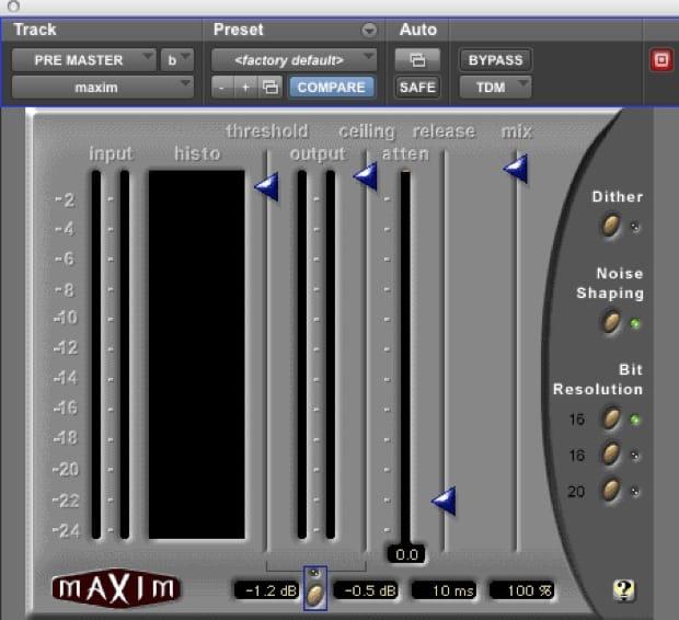 Cap 08 B - Limiter - Lezioni di Mastering