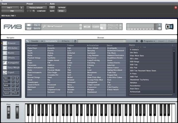 Cap 08 B - Virtual instrument - Lezioni di Mastering